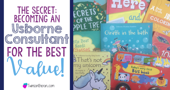 The Secret Becoming An Usborne Consultant For The Best Value Twins On The Run